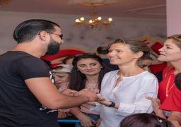 دیدار بشار اسد و همسرش با فرزندان قربانیان جنگ های سوریه+ عکسها