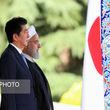 گزارش تصویری از استقبال رسمی روحانی از آبه در سعدآباد