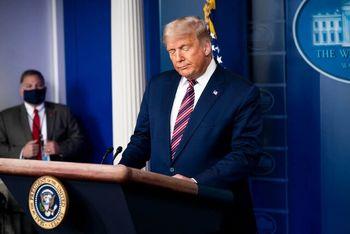 قطع سخنرانی ترامپ در پربیننده ترین ساعت پخش در چند شبکه خبری آمریکا