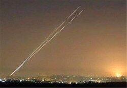شلیک ۲ راکت از نوار غزه به سرزمینهای اشغالی