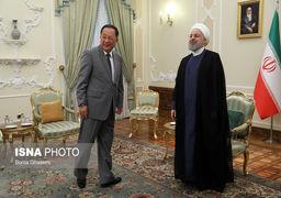 وزیر خارجه کره شمالی با حسن روحانی دیدار کرد +تصاویر
