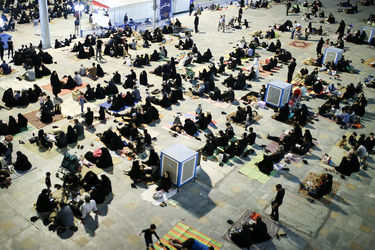مراسم شب احیاء بیست و یکم رمضان در مصلی امام خمینی (ره)