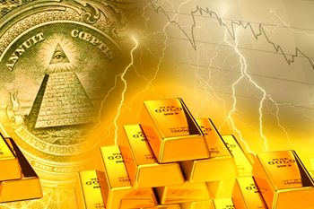 طلا درحال سقوط / اونس در کانال 1800 غرق شد