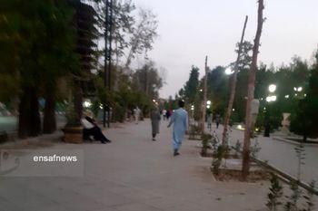 """ماجرای تجمع """"حامیان طالبان"""" در پارک ملت تهران + عکس"""