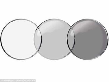 تولید لنزهای چشمی برای جایگزینی عینک آفتابی