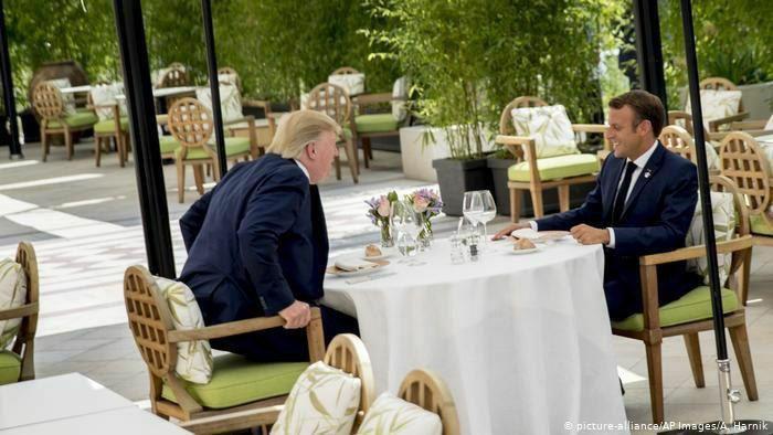 محرمانههای ترامپ و ماکرون درباره ایران؛ تنش تمام میشود؟