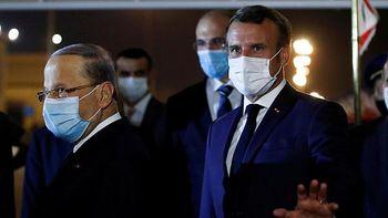 هشدار شدیداللحن مکرون به دولتمردان لبنان