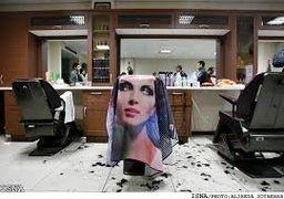 هشدار به آرایشگران مردی که به خانمها خدمات میدهند