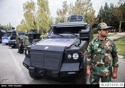کدام خودروها تامین امنیت مراسم تحلیف را به عهده دارند + عکس