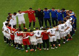 تمرین امروز تیم ملی فوتبال ایران در قطر +تصاویر