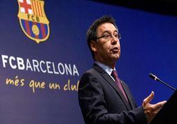 جمعآوری امضا برای برکناری رئیس باشگاه بارسلونا
