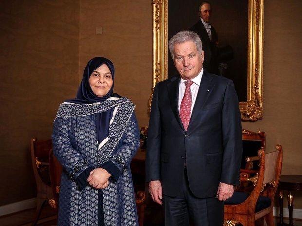 خانمی که سفیر ایران در فنلاند شد + عکس
