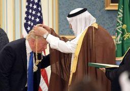 توافق تلفنی سلمان و ترامپ در مورد ایران / پشت پرده خرج کردن دلارهای نفتی