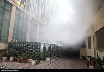مرد آتشهای بزرگ تهران؛ از پلاسکو تا ساختمان حرارتی + عکس
