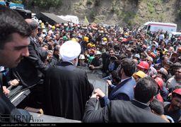 دو نگاه به اعتراض معدنکاران در حضور رئیسجمهوری