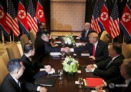 ترامپ پس از دیدار تاریخی با اون: عالی بود