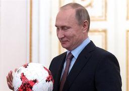 وعده فوتبالی پوتین به یتیمان