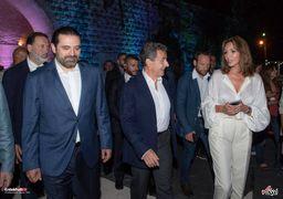 کنسرت همسر سارکوزی با حضور سعد حریری