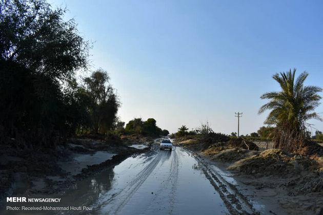 تصاویر روستای سیلزده زرآباد پس از فروکش سیلاب
