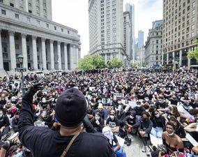تصاویر منتخب اعتراضات آمریکا در روز هفتم