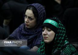 تصاویر مراسم عزاداری شهادت سردارسلیمانی در مصلی امام خمینی(ره)