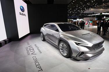 اتومبیل مفهومی ویزیو تورر ساخت کمپانی ژاپنی سوبارو
