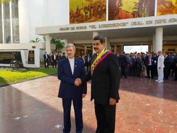 وزیر دفاع ایران در مراسم تحلیف «نیکلاس مادورو»