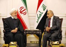 روحانی و عبدالمهدی 5 سند همکاری مشترک امضا کردند