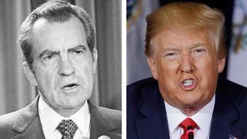 استیضاح ترامپ / ضرر ترامپ بیش از نیکسون است