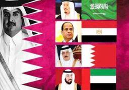 بیانیه کشورهای عربی مینی بر ادامه تحریم قطر