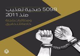 آماری عجیب از قربانیان شکنجه در بحرین