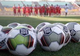 تصاویر عجیب از فوتبال که به زودی عادی میشوند
