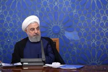 مراسم افتتاح ۵ طرح صنعتی و معدنی توسط روحانی آغاز شد