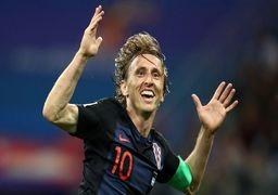 لوکا مودریچ مرد سال فوتبال جهان شد
