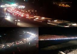 ترافیک سنگین در محور هراز ادامه دارد