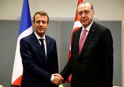قول همکاری اقتصادی میان مکرون و اردوغان