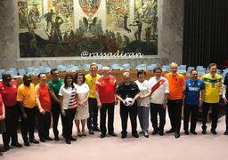 تب فوتبال در شورای امنیت سازمان ملل