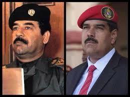 رئیس جمهوری ونزوئلا : من صدام حسین زنده هستم!