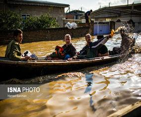 مناطق سیلزده گلستان هفت روز پس از واقعه