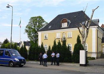 حمله به سفارت ایران در دانمارک