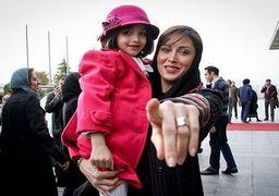 پیام مهتاب کرامتی به مردم ایران+عکس