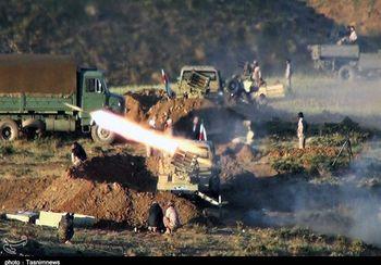 ضربه کوبنده و موشکی سپاه پاسداران به تروریست های شمال غرب کشور