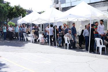 حضور مردم تهران در انتخابات