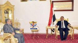 دیدار سفیر ایران در یمن با رئیس پارلمان این کشور