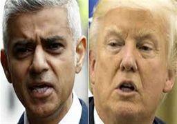 فیلم| پاسخ تمسخرآمیز شهردار لندن به توهین ترامپ