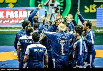 ایران قهرمان جام جهانی کشتی آزاد شد