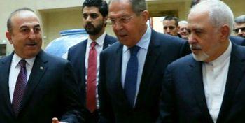 ترکیه: به همکاری با ایران و روسیه در مسئله سوریه ادامه میدهیم