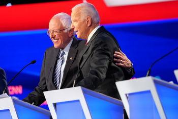 پیروزی جو بایدن بر سندرز در سه ایالت