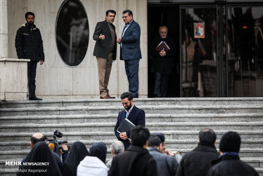 در حاشیه جلسه امروز هیئت دولت / آذری جهرمی