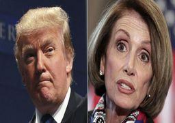 واکنش عجیب ترامپ به اظهارات رئیس کنگره درباره استیضاح رئیسجمهور